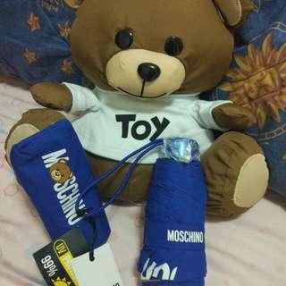 Moschino Blue Teddy Bear Umbrella