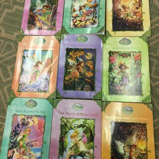 Disney fairies storybooks