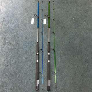 Combo Shimano Cruza 6ft 8-16lb Fishing Rod and Daiwa SweepFire 3000 Fishing Reel with 20lb Line