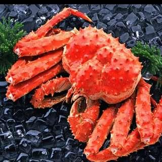 🔥智利熟帝皇蟹😋