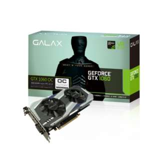 GALAX GTX 1060 OC 3GB Graphics Card