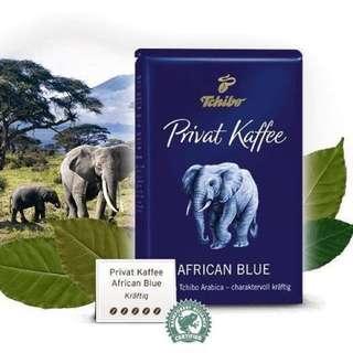 【現貨】德國Tchibo 非洲藍咖啡豆 粉狀500g