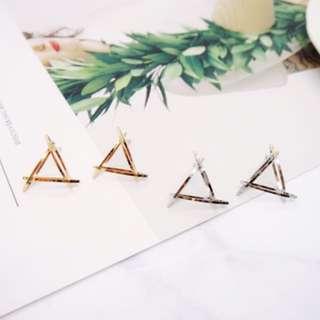 🚚 歐美時尚幾何圖形耳環