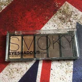 H&m smoky brown eyeshadows