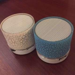 Mini Pulse lighting Bluetooth Speaker