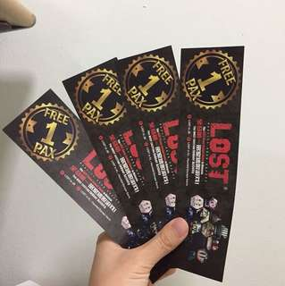 LOST in KL tickets ( 3 left )
