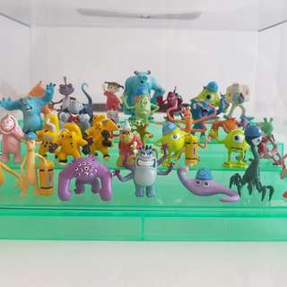 Monster Inc Figurines (complete set)