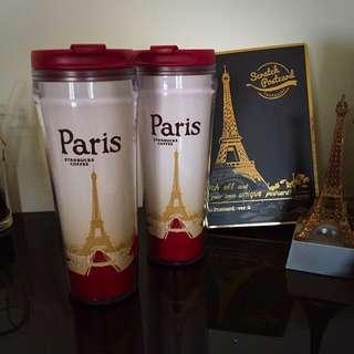 《全新》Starbucks 星巴客 城市隨行杯 法國巴黎