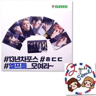韓國7-11限定!Super Junior Cash-bee(交通卡)