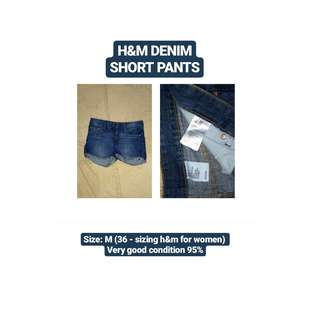 H&M Denim Short Pants