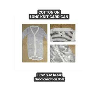Cotton On Long Knit Cardigan