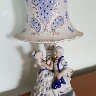 Victorian bed side table lamp