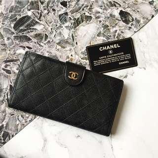 Sold 已賣 Vintage Chanel Wallet 銀包 長