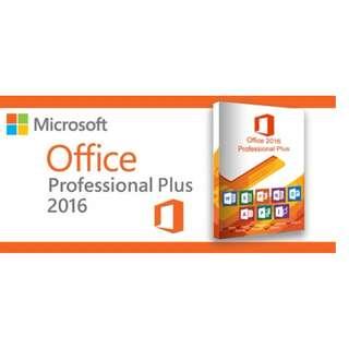 Microsoft Office 2016 Pro Plus Activation Key.
