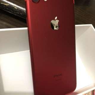 iphone 7 128g 紅色 99%new 有保養