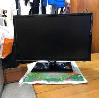 三星22吋高清電視(有hdmi 線丶可接PS 4)
