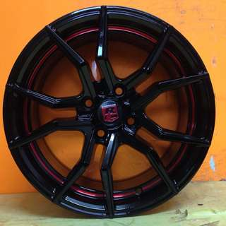 15 inch SPORT RIM RC08 RACING WHEELS