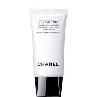 Chanel CC Cream Complete Correction Sunscreen Broad Spectrum SPF 50 20 Beige