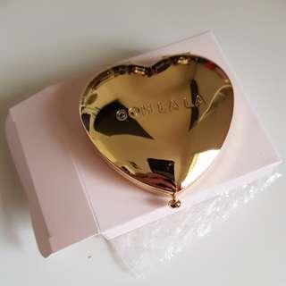 Kikki.k heart compact mirror