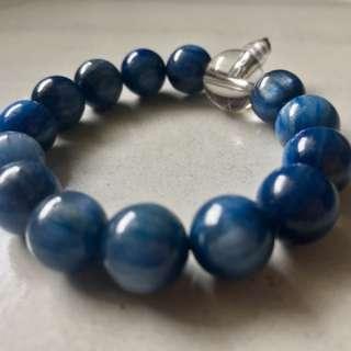 Kyanite Bracelet - 10mm Beads