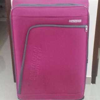 "American Tourister Luggage - 28"" Hot Pink Fabric"