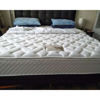 Kingsize Bed frame (Quality mattress available)
