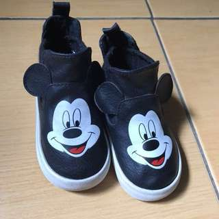 H&M Mickey Mouse Hi-Cut Shoes