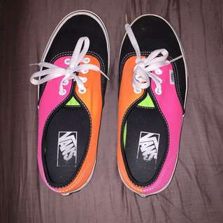 Limited edition vans size 7 womans