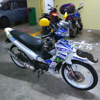 Time sales! Oct 2023 Yamaha 125Z