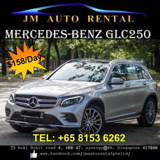 Mercedes-Benz GLC 250 for rent
