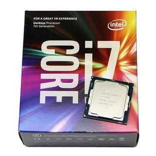 BNIB 7th gen Intel Core i7-7700K