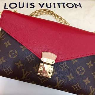 Louis Vuitton Pallas Chain Bag LV鍊包