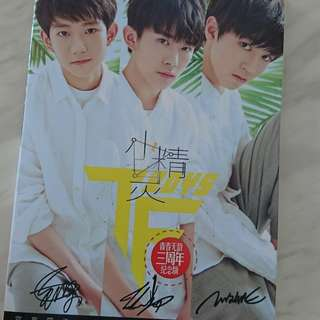 Tfboys and lay photobook