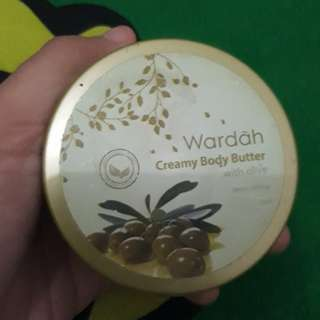 Creamy Body Butter Wardah with Olive