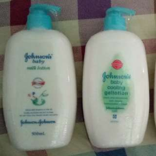 JOHNSON'S BABY LOTION 500ml(VARIANT COOLING, MILK+RICE, MILK