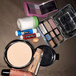 Take all these make up . Almost full .used a few times only