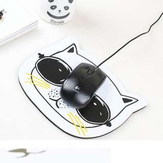 可愛萌貓電腦滑鼠墊