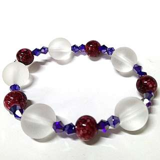 Gelang Combine Ceramic and Glass