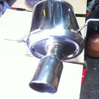muffler bantal jasma turbo inlet 3""