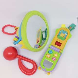 Mixed Hanging Toys & Rattle