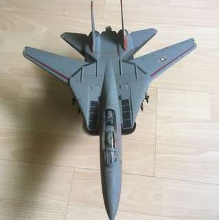 1:48 scale solid die cast f14 fighter