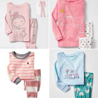 Kids Long sleeve Top pants pyjamas set
