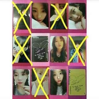 [WTB/LF] Taeyeon My Voice OFFICIAL Photocard