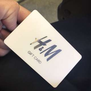 H&M gift card $2000