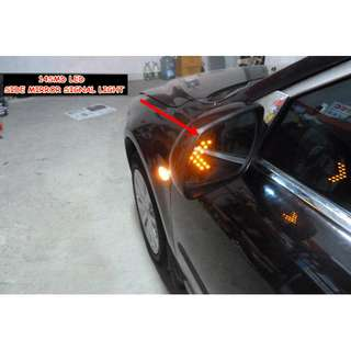 LED Arrow Light Side Mirror