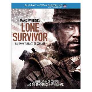 🆕 Lone Survivor Blu Ray + DVD