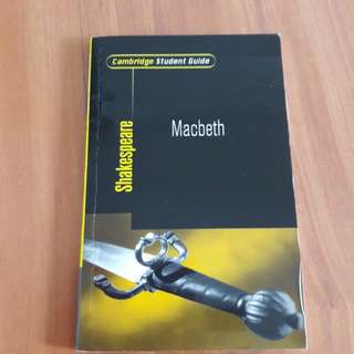 Shakespeare Macbeth student guide