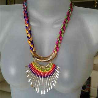 Colored Necklace From India