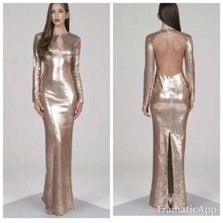 Good Formal Sequin Backless Dress