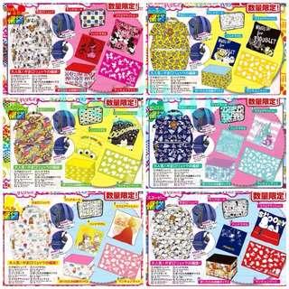 日本🇯🇵卡通人物6件套實用💢福袋